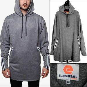 ElbowGrease Athletics - Reflective Fleece Hoodie